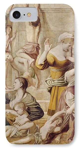 Detail Of Saint Cecilia Distributing Alms IPhone Case