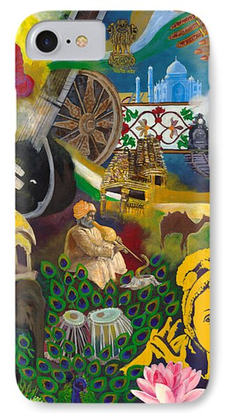 Discover India IPhone Case by Alika Kumar