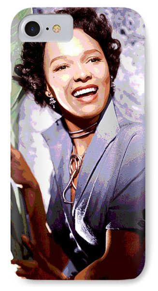 Dorothy Dandridge IPhone 7 Case by Charles Shoup