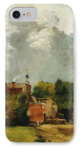 East Bergholt Church IPhone Case by MotionAge Designs
