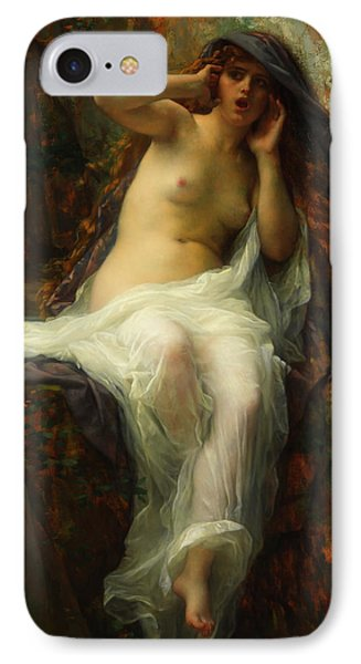 IPhone Case featuring the painting Echo by Alexandre Cabanel