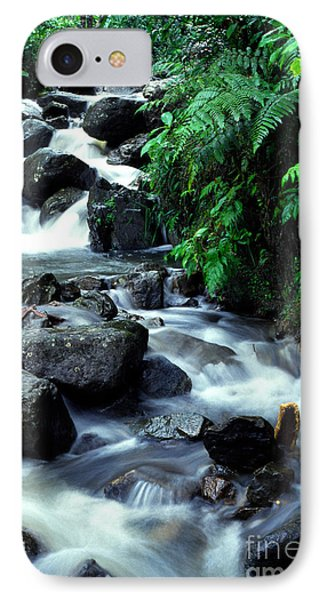 El Yunque Waterfall Phone Case by Thomas R Fletcher