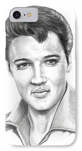 Elvis Presley IPhone Case by Murphy Elliott