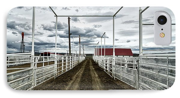 Empty Corrals IPhone Case by L O C