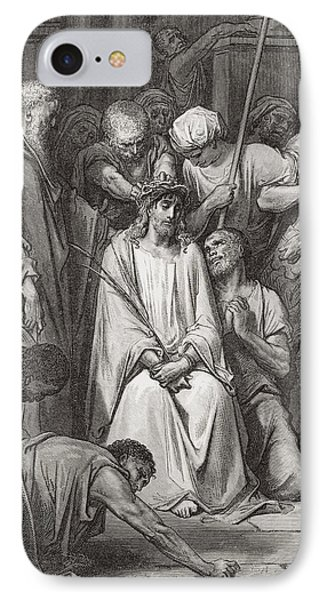 Engraving From The Dore Bible IPhone Case