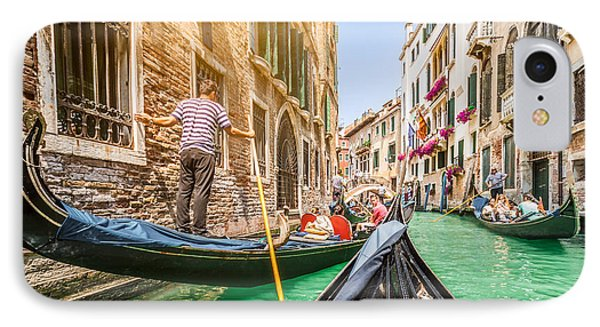 Exploring Venice IPhone Case by JR Photography