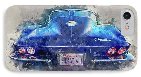 2 Fast 4 U IPhone Case by Jon Neidert