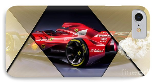 Ferrari F1 Collection IPhone Case by Marvin Blaine