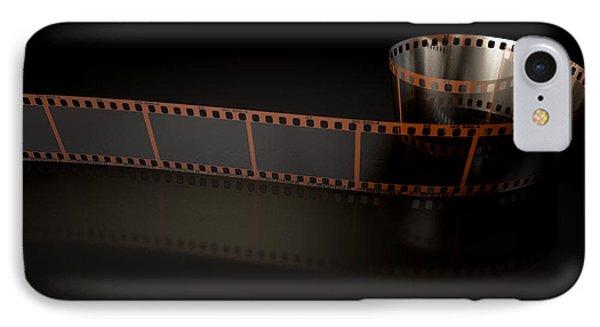 Film Strip Curled IPhone Case