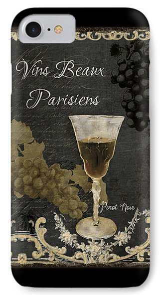 Fine French Wines - Vins Beaux Parisiens IPhone Case