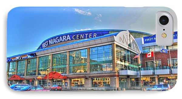 First Niagara Center IPhone Case by Michael Frank Jr