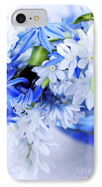 First Spring Flowers Phone Case by Elena Elisseeva
