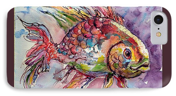Fish IPhone Case by Kovacs Anna Brigitta