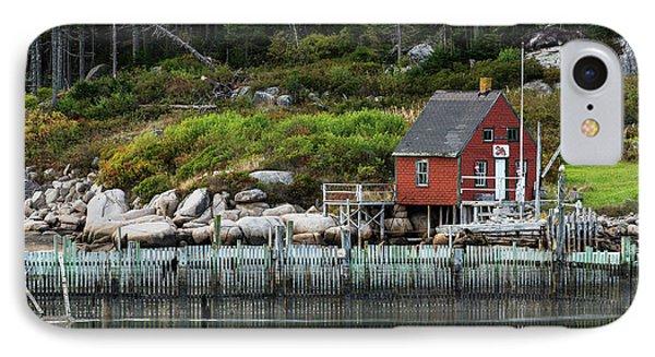Fisherman's Shack IPhone Case by John Greim