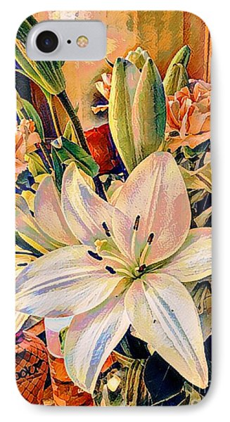Flowers For You IPhone Case by MaryLee Parker
