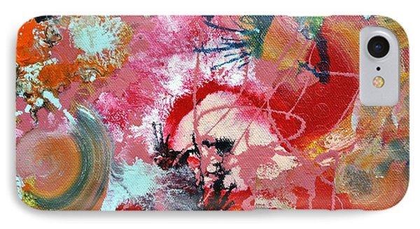 Fluid Acrylic Paint IPhone Case by Sumit Mehndiratta