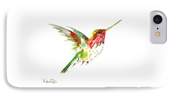 Flying Hummingbird IPhone Case