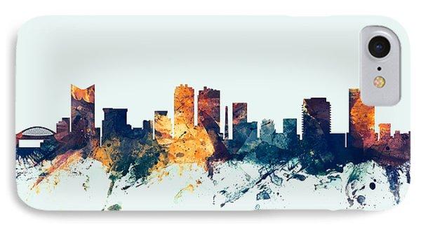 Fort Worth Texas Skyline IPhone Case