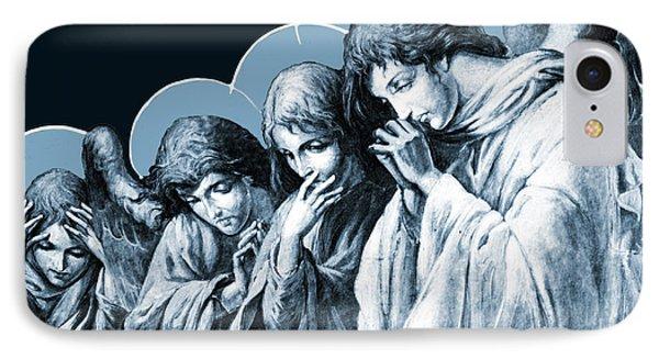 Four Angels IPhone Case by Munir Alawi