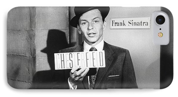 Frank Sinatra IPhone Case by Underwood Archives