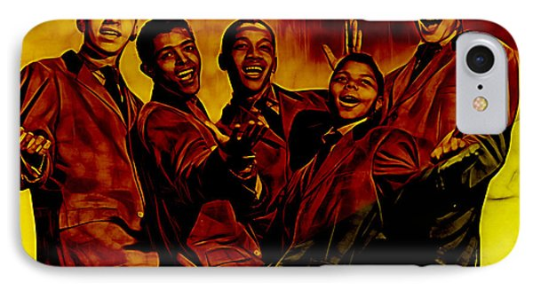 Frankie Lymon Collection IPhone Case by Marvin Blaine