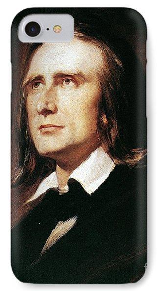Franz Liszt (1811-1886) IPhone Case