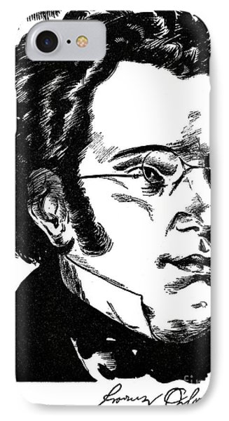 Franz Schubert (1797-1828) IPhone Case