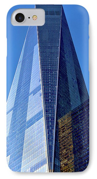 IPhone Case featuring the photograph Freedom Tower by Mitch Cat