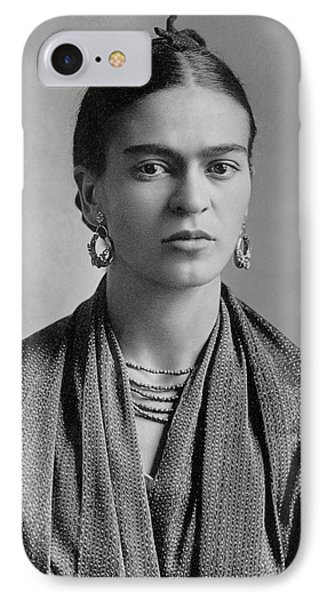 IPhone Case featuring the painting Frida Kahlo by Pg Reproductions