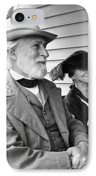 General Lee And Mary Custis Lee IPhone Case