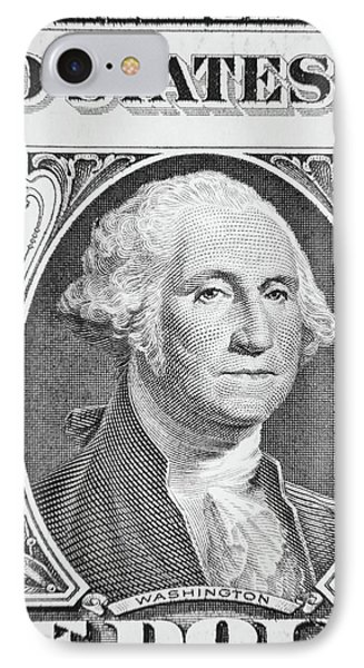 IPhone Case featuring the photograph George Washington by Les Cunliffe