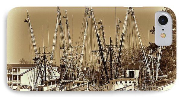 IPhone Case featuring the photograph Georgetown Shrimpers by Bill Barber