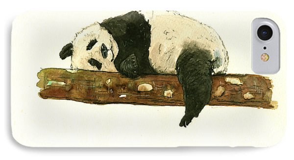Giant Panda IPhone Case by Juan Bosco