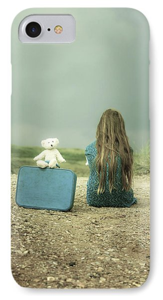 Girl In The Dunes IPhone Case