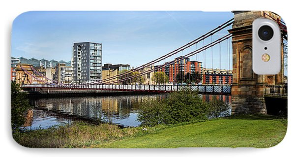 IPhone Case featuring the photograph Glasgow by Jeremy Lavender Photography