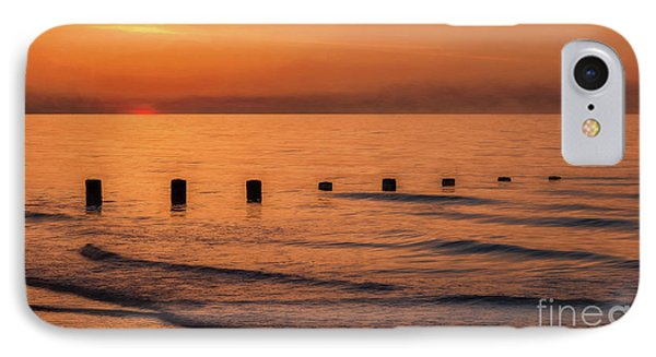 IPhone Case featuring the photograph Golden Sunset by Adrian Evans
