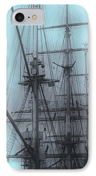 IPhone Case featuring the photograph Gorch Fock ... by Juergen Weiss