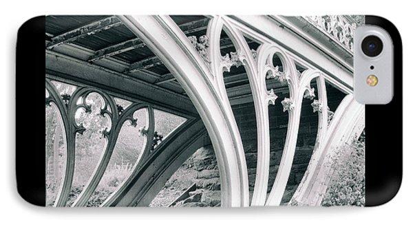 Gothic Bridge Detail IPhone Case by Jessica Jenney