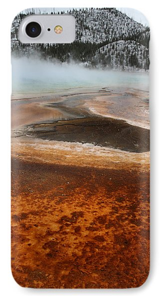 Grand Prismatic Pool In Yellowstone National Park Phone Case by Pierre Leclerc Photography