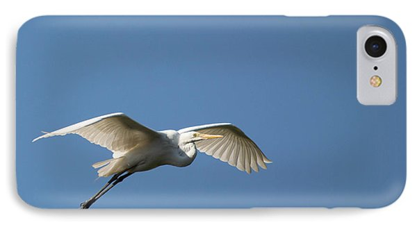 Great Egret IPhone Case by Linda Geiger