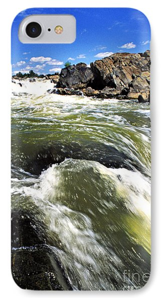 Great Falls Of The Potomac River Phone Case by Thomas R Fletcher