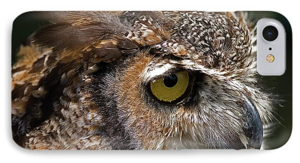IPhone Case featuring the photograph Great Horned Owl by JT Lewis