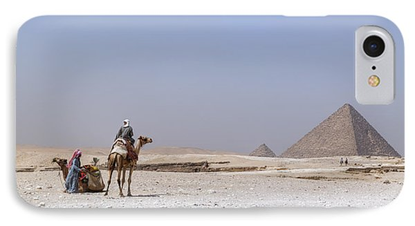 Great Pyramids Of Giza - Egypt IPhone Case