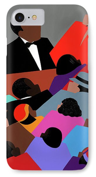Harlem Renaissance Aka Jazzed IPhone Case