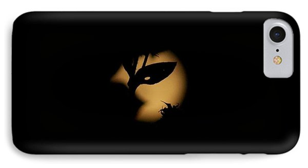 IPhone Case featuring the photograph Harvest Moon Masquerade by Deborah Moen