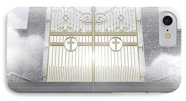Heavens Gates IPhone Case