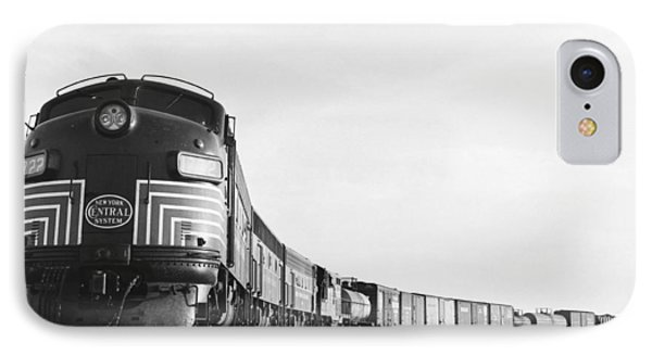 Historic Freight Train Phone Case by Omikron