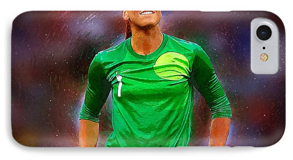 Hope Solo IPhone Case by Semih Yurdabak