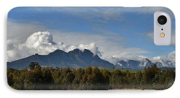 Hottentots Holland Mountains IPhone Case by Werner Lehmann