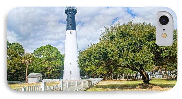Hunting Island Lighthouse IPhone Case